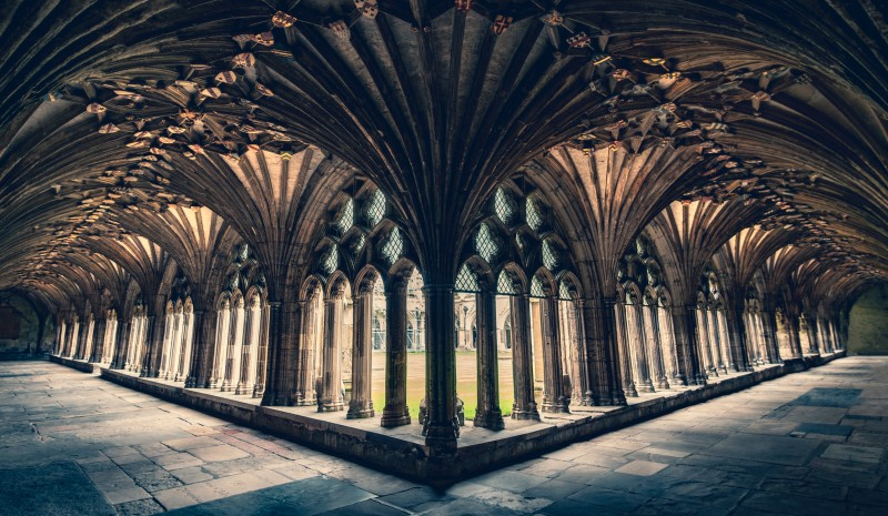 Cloisters by Zoltan Tasi, via Unsplash